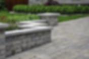 Stone Block Retaining Walls and Landscap