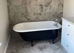 new pedestal bathtub install nc