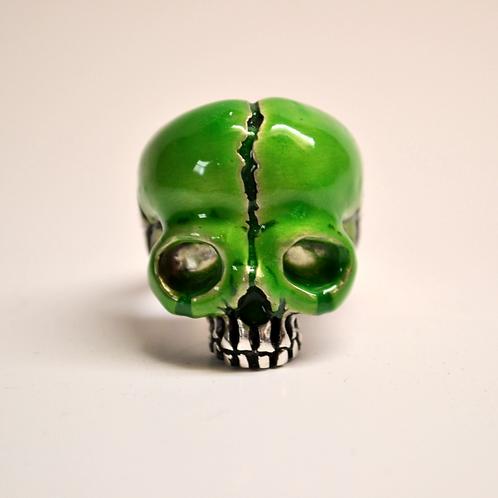 Skull Ring - Slime