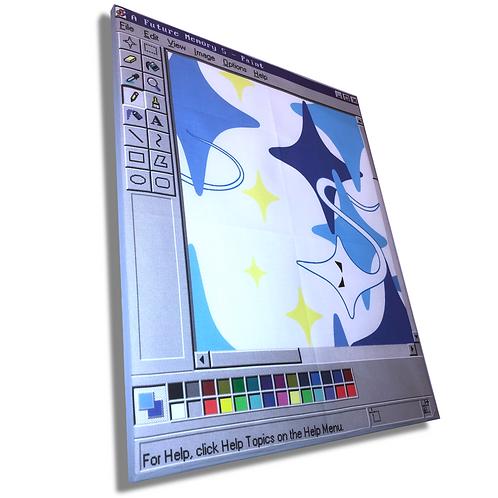 MS Paint Canvas