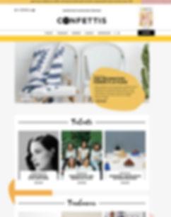 webzine féminin trends tendances inspirations mook confettis mode beauté entrepreuneuses entrepreneuriat féminin