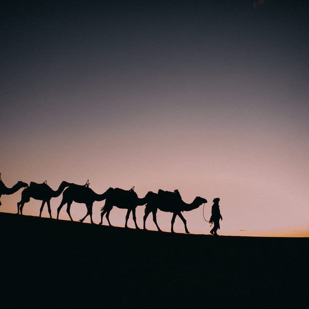 Spot Azul Bereber - Marruecos