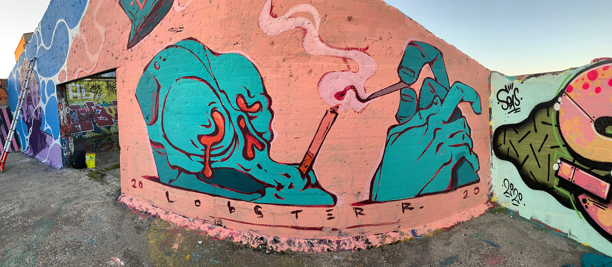 Smoke and tears