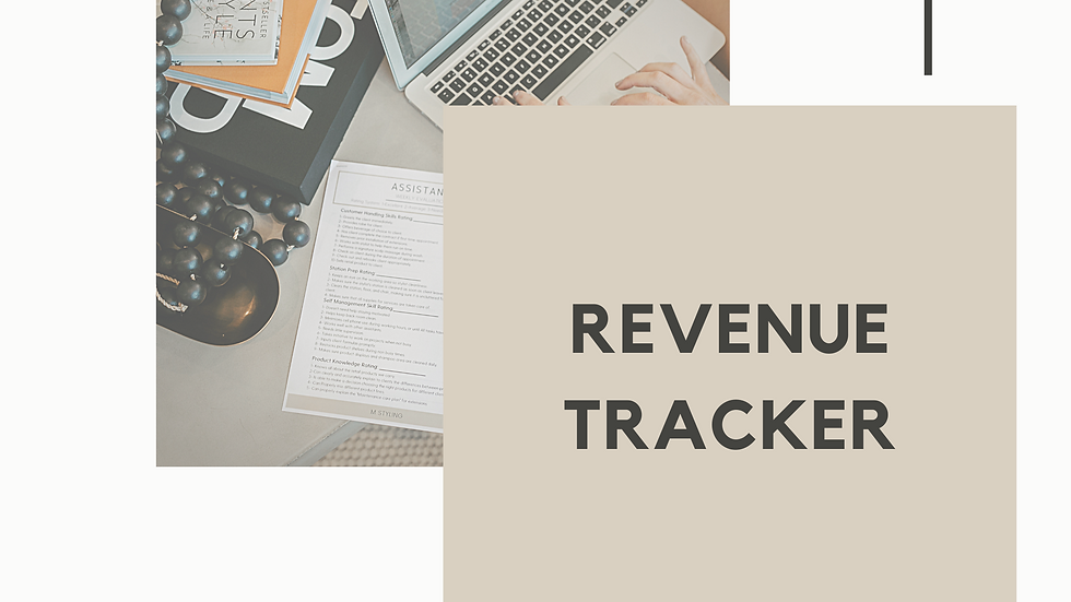 Revenue Tracker