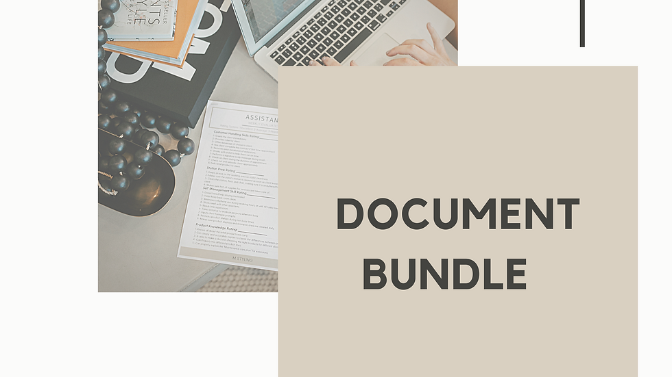 Document Bundle