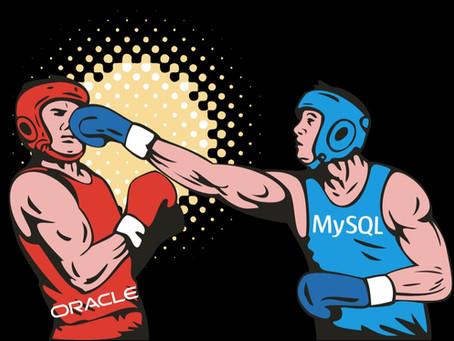 DIFERENÇAS ENTRE MYSQL E ORACLE
