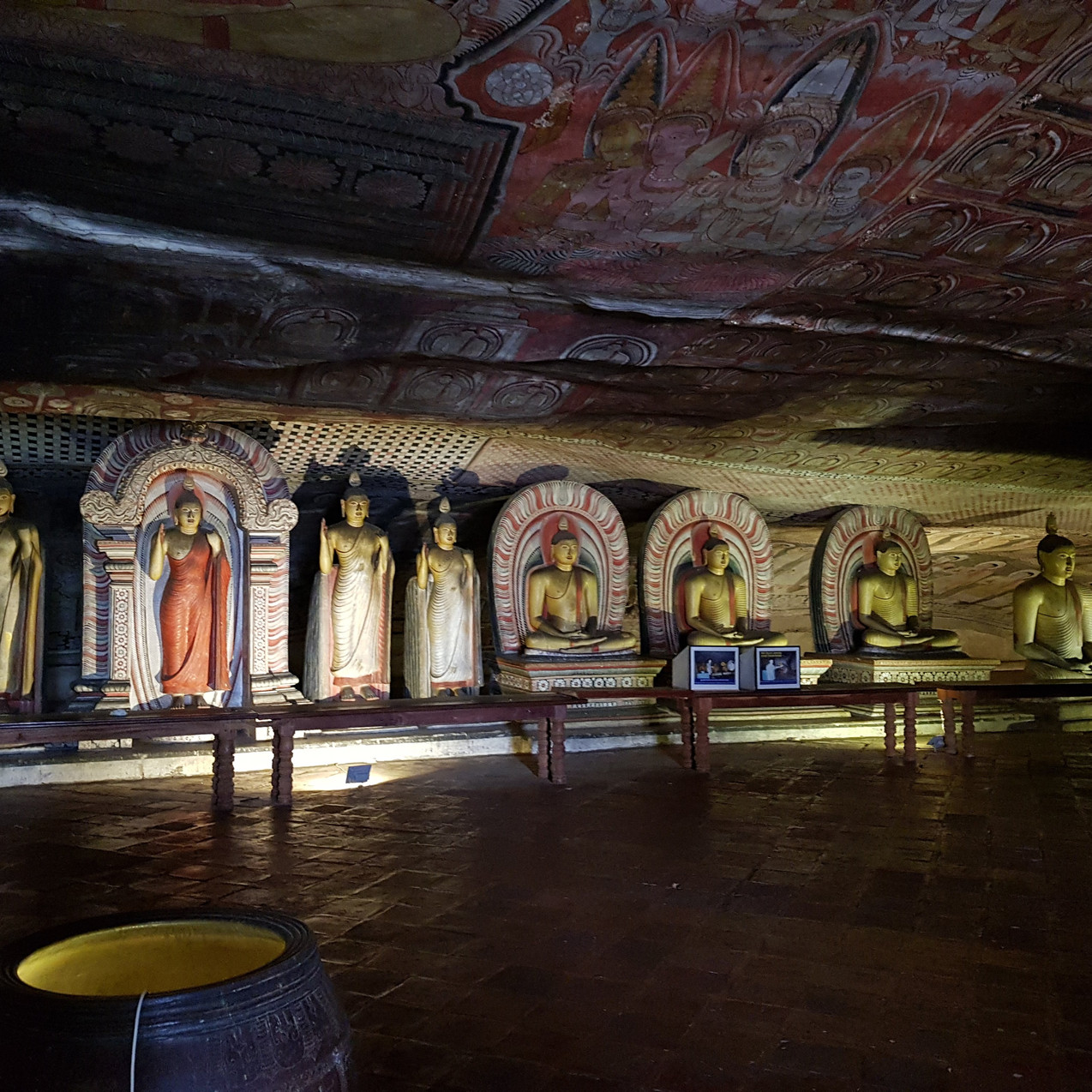 Buddha statues in all shapes and sizes