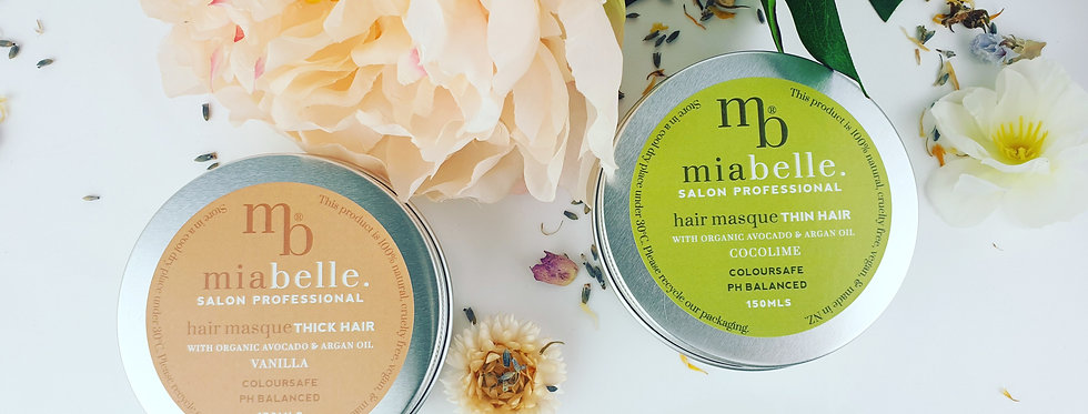 Hair masque treatment