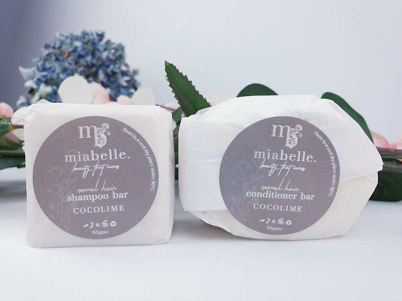 COCOLIME shampoo and conditioner bar