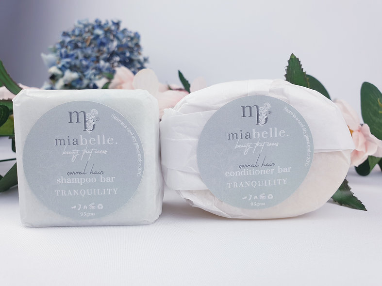 TRANQUILITY shampoo and conditioner bar