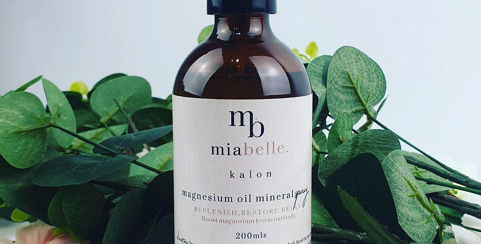 Pure Magnesium oil mineral spray