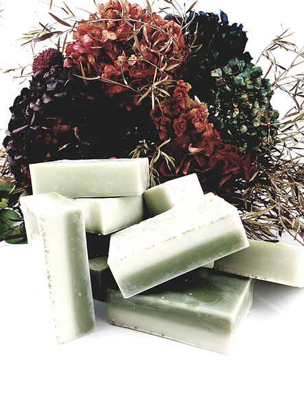 Coconut and Green clay body soap