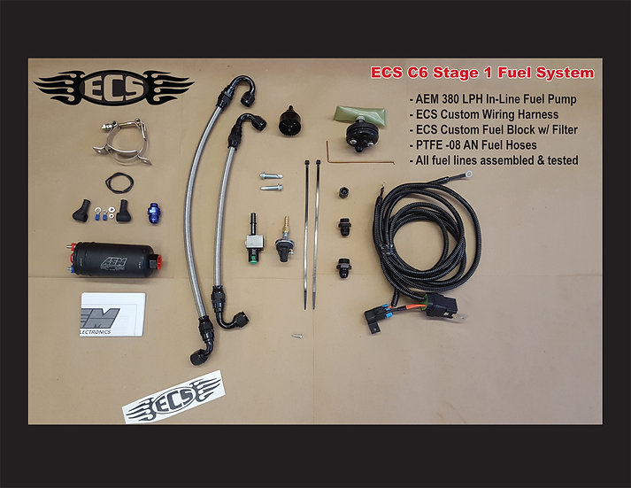 ECS Stage I Fuel System for 1997 to Early 2003 Corvettes