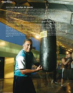 fotografia de retrato editorial por dondyk riga estudio creativo madrid jesus nava el cuervo boxeador para revista tendencia 24