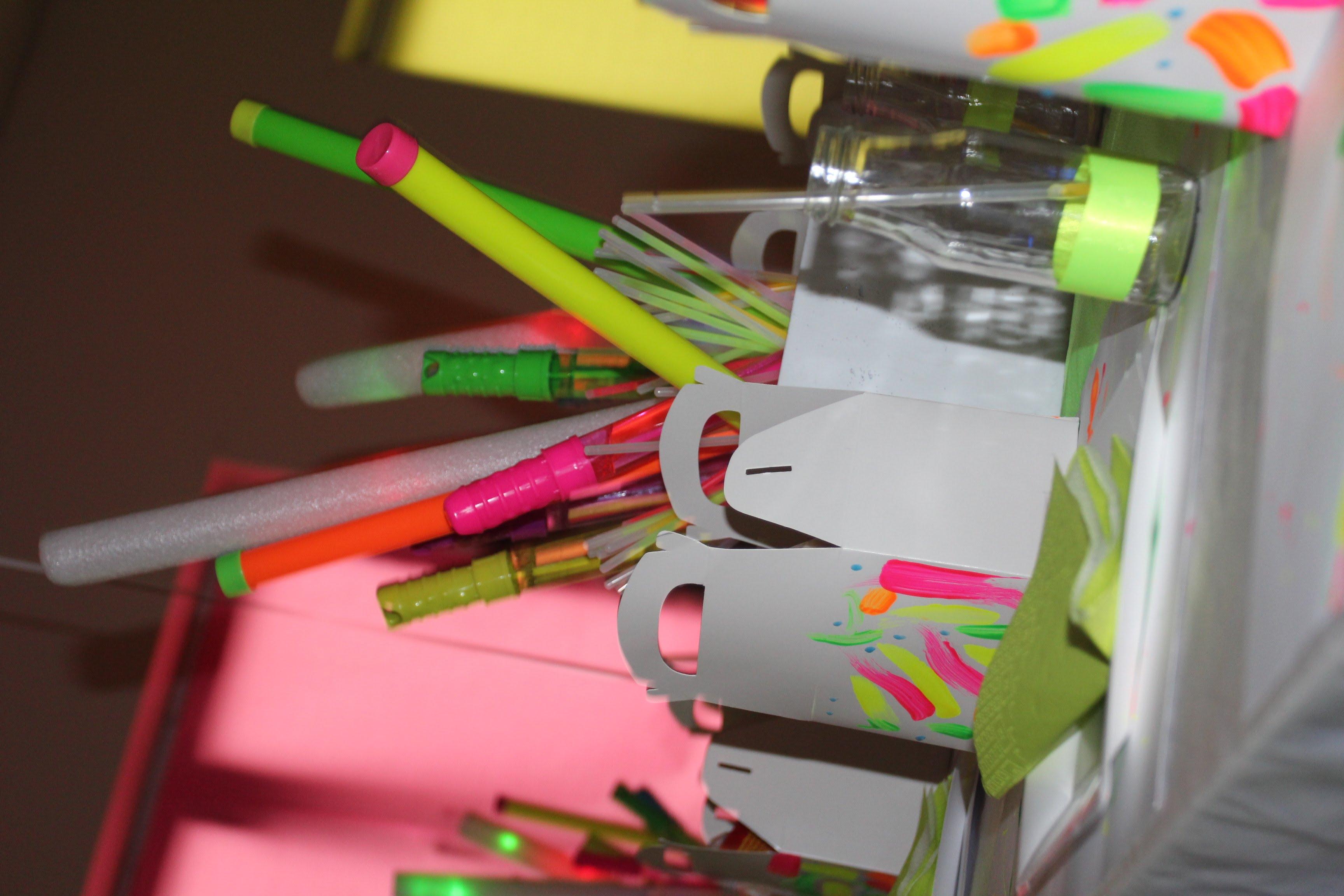 Kayden's Neon Party