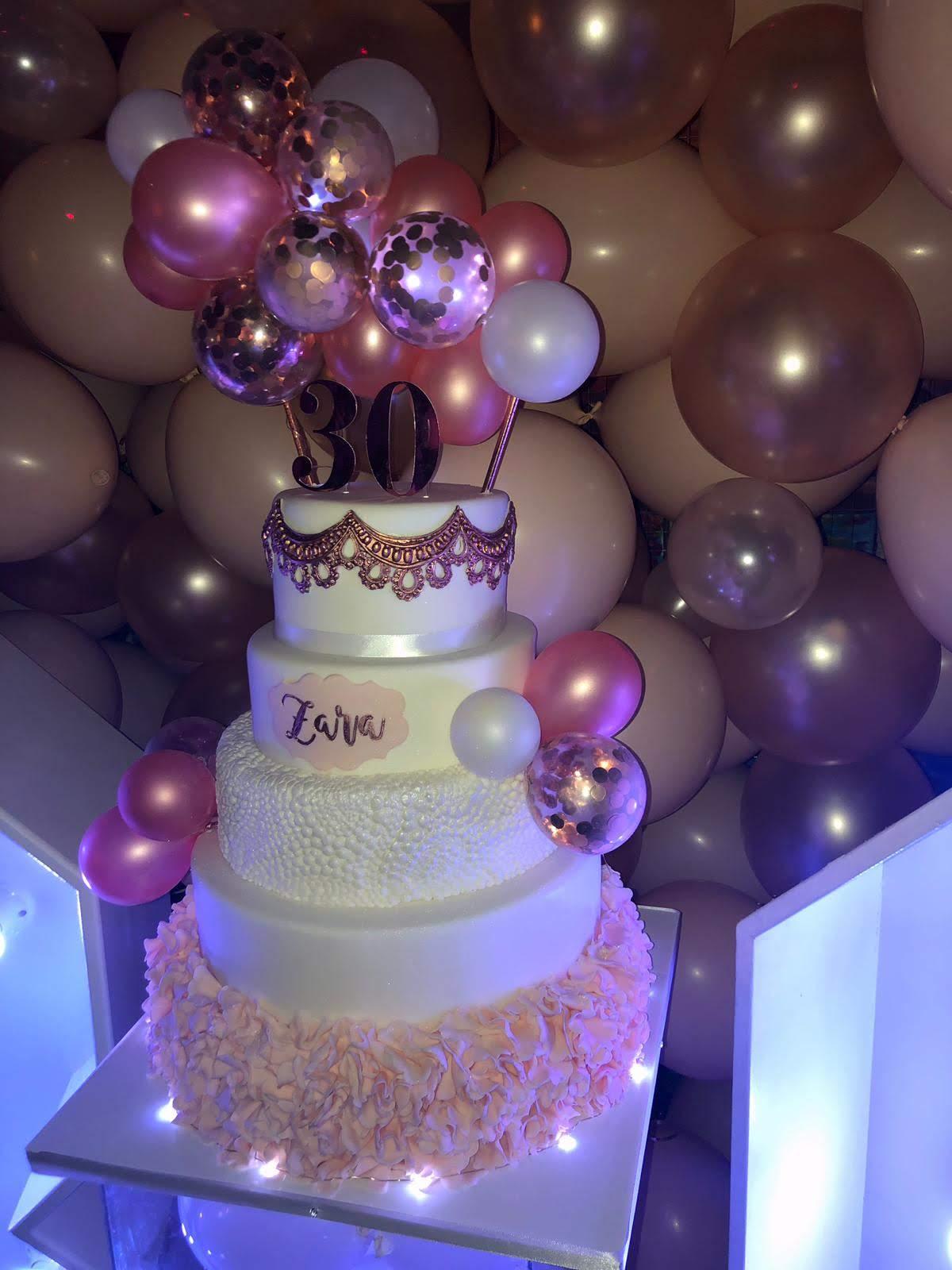 Zara's Blushing 30th