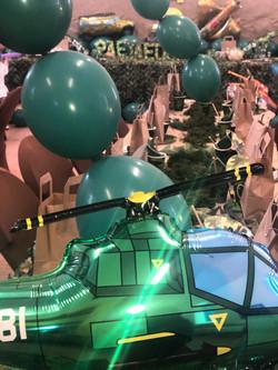 Jaedon's Army Party