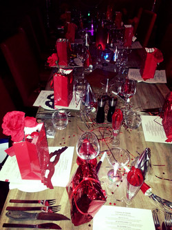 Red Dinner Party