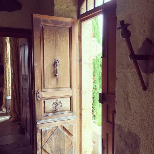 Porte de presbytère