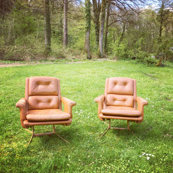 Paire d'assises