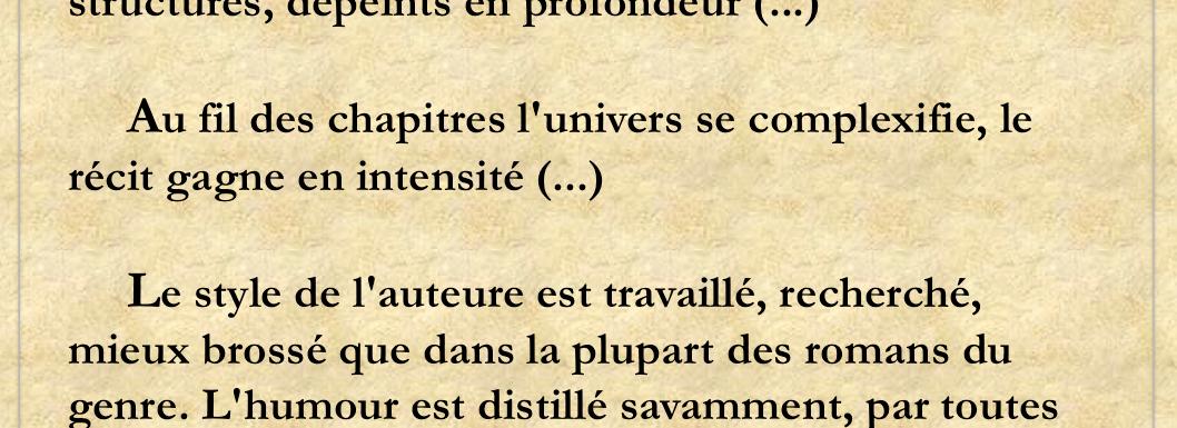 Chroniques Littéraires de Goupil