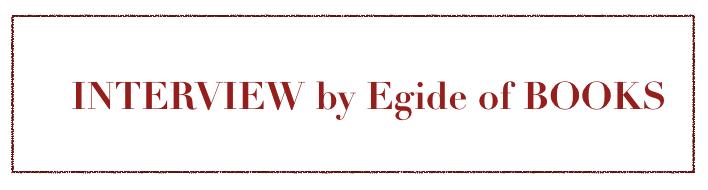 Interview Egide of Books