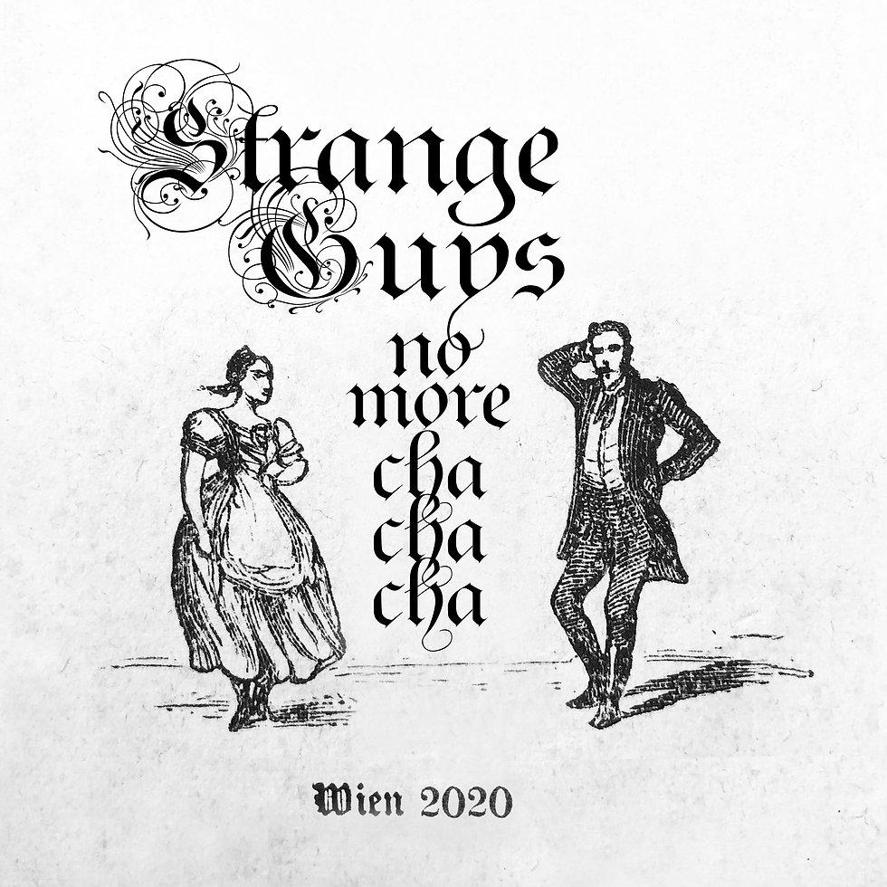 Strange Guys_ChaChaCha Single Cover Fina
