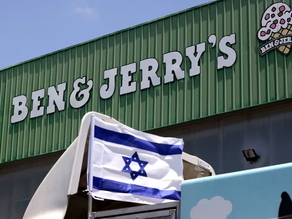 Ben And Jerry's Founders Proud Of Israel Boycott