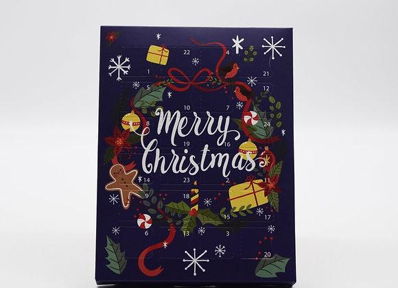 24 handmade luxurious chocolate Advent Calendar