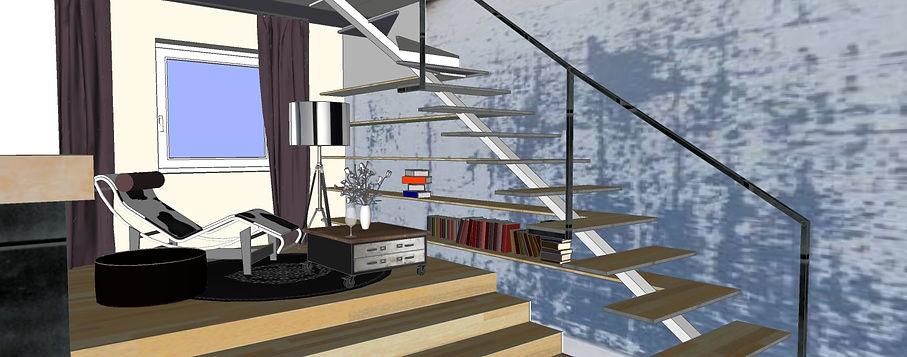 3D, Archi'in, Maison Architecture Interieur, Sophie Bordin, Metz, Lorraine