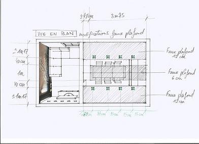 Croquis, Archi'in, Sophie Bordin, Maison d'Architecture d'interieur