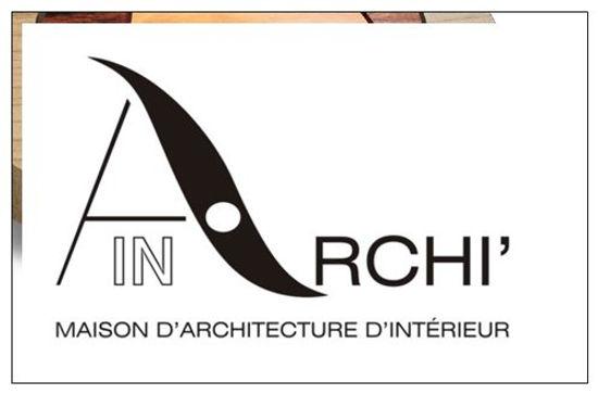 Logo, Archi'in, Maison d'Architecture d'interieur, Metz, Lorraine