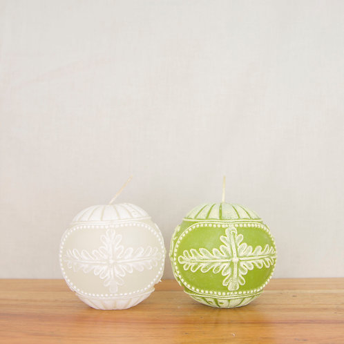 Jacquard Decoball Candle