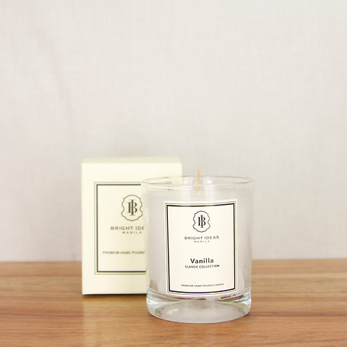 Scented Glass Jar Candle