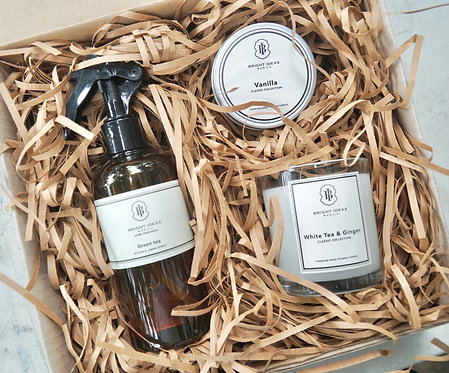 Candle& Spray Gift Set