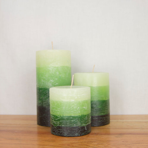 Candle Palette in Greenery