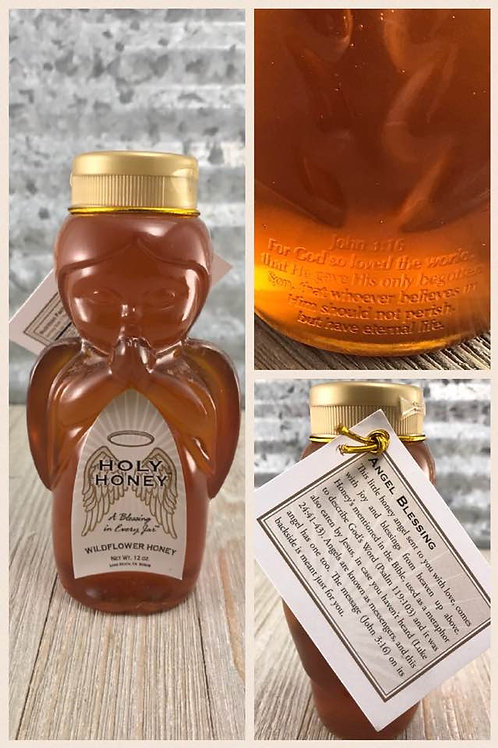 12 oz. Wildflower Honey Angel