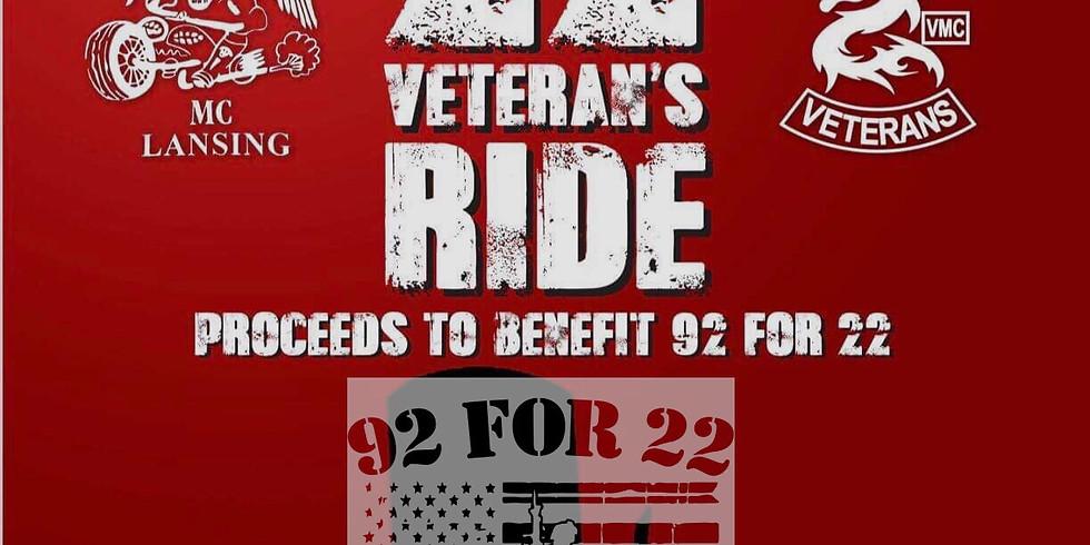 Annual 22 Veterans Ride