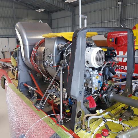 Eagle 407HP Honeywell HTS900 engine