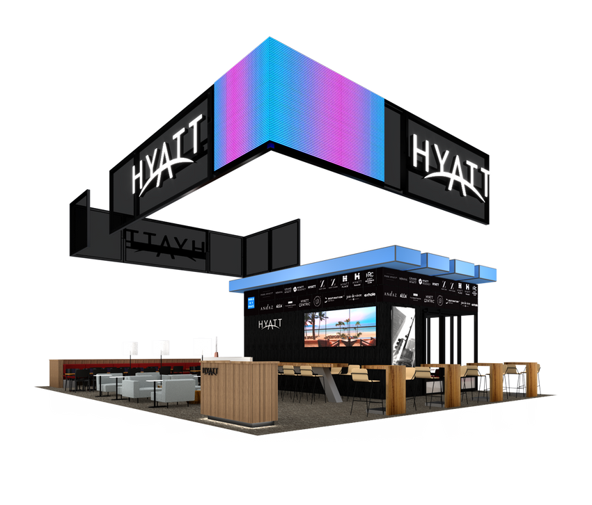 Hyatt, GBTA '19 Rendering
