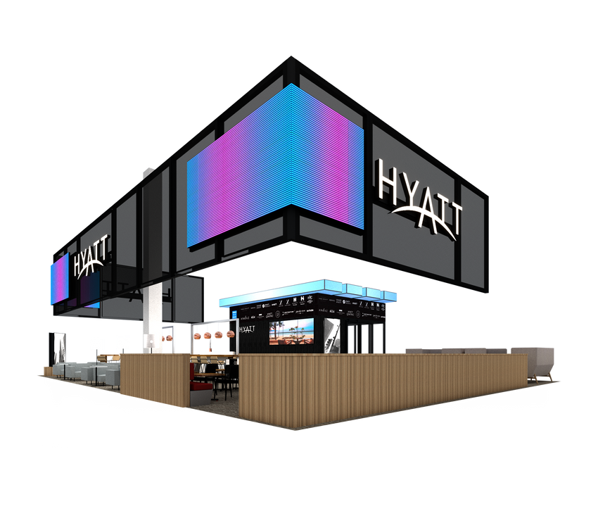 Hyatt, IMEX '19 Rendering