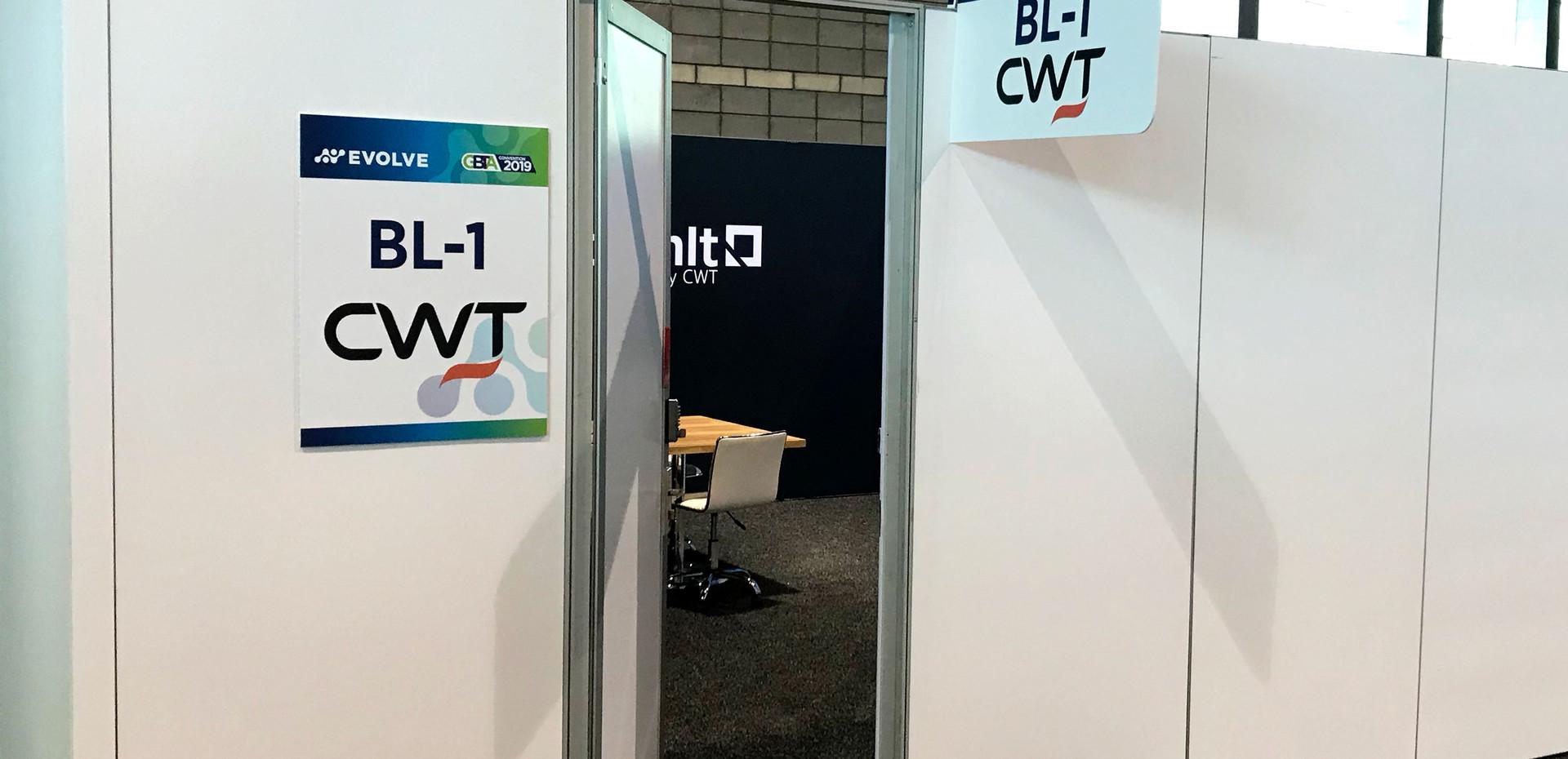 CWT Meeting Room, GBTA '19