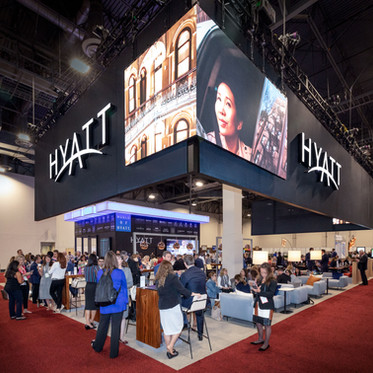 CASE STUDY: Hyatt | Best Reconfigurable Exhibit