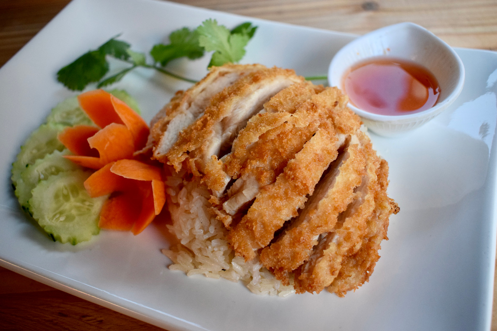 Thai Fried Chicken & Rice