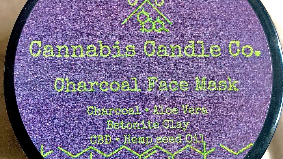 100% Organic Vegan Handmade CBD Charcoal Mask