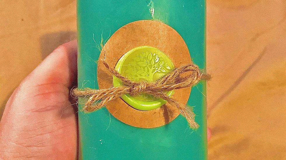 Pillar Style 100% Organic Vegan Handmade CBD HEMP infused  Scented Candle