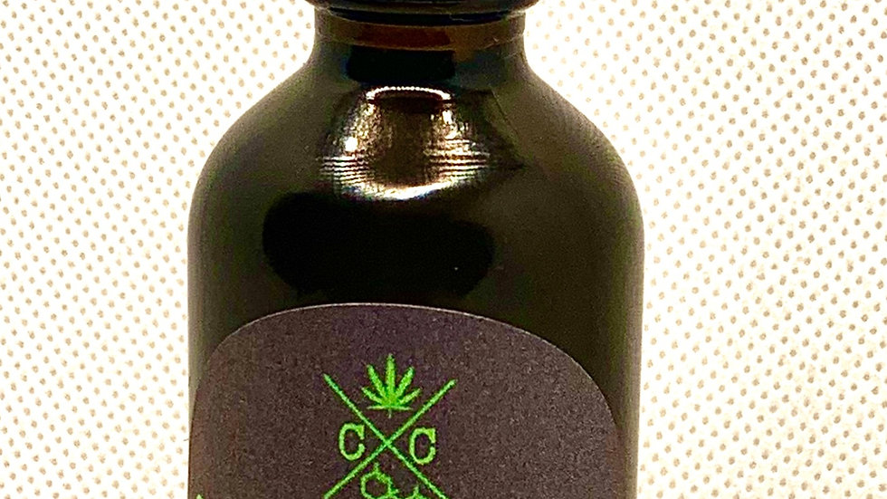 100% Organic Vegan Hemp Seed Oil CBD Hair and Beard Serum