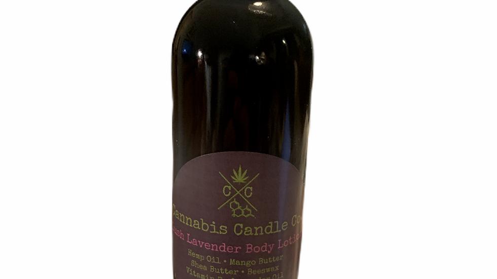 Lush Lavender Moisturizing 8oz Pump Bottle Body Lotion