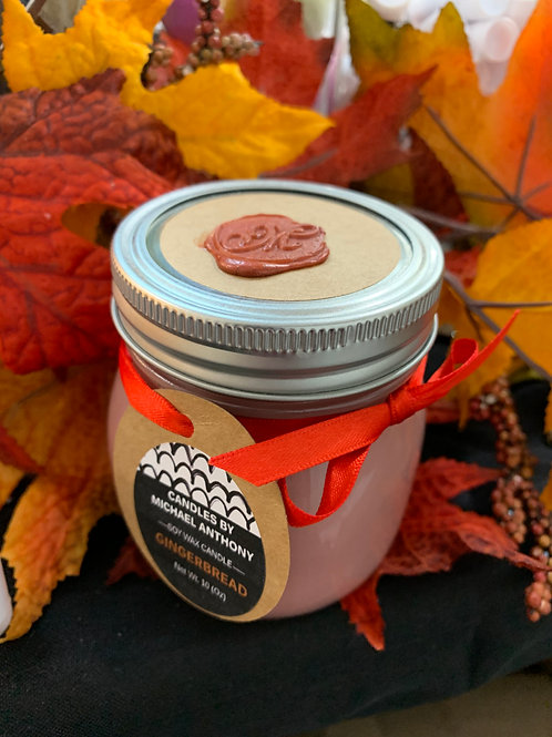 WINTER IS COMING FRAGRANCES !! 5OZ OR 10OZ ORGANIC SOY WAX SCENTED CANDLES !