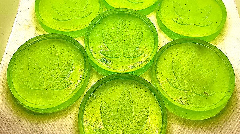 Handmade Organic Vegan CBD Hemp Seed Oil Patchouli and Hemp Scented Artisan Soap